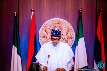 'Without peace, development can't take place', Buhari tells Kaduna indigenes